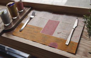 Podkładki papierowe gastronomiczne